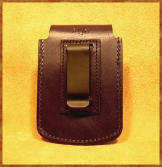 Leather Blacberry Case With Belt Clip