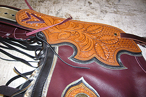 "Custom Rodeo Chaps Made for TV Show ""HeartLand"""